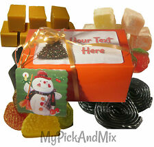 Fudge & Liquorice Sweets Boxed & Gift Wrapped, FREE Gift Tag & Personalise FREE