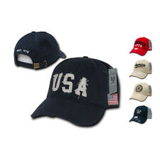 NEW USA Flag Vintage America American Distressed Baseball Cap Caps Hat Hats Mens