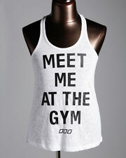 New Lorna Jane Meet Me At The Gym Tank Top White All sizes RRP39.99