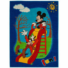 Mickey Mouse Children's Bedroom Playroom MAT RUG CARPET in Blue or Red