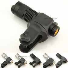 CREE Q5 LED 300LM bike bicycle Headlight headlamp Flashlight + holder clip clamp