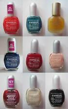 Maybelline Express Finish 50-Second Nail Polish, U-Pick Color, FREE SHIPPING