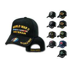 Iraq Korea Desert Storm POW WW2 Veteran Vet Military Baseball Hats Hat Cap Caps