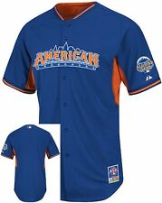 American League Authentic Majestic 2013 All Star BP Mens Jersey Adult Sizes