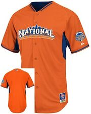 National League Authentic Majestic 2013 All Star BP Jersey Adult Sizes