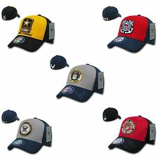 Military Air Force Marines Navy Army Coast Guard Flex Baseball Hats Hat Caps Cap