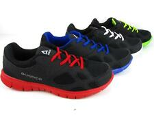 Men's Light Weight Sneakers Athletic Tennis Shoes Running Walking Lace Up