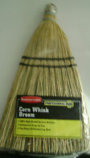 Corn Whisk Broom Wisk Small Hand Brooms Rubbermaid Bristles Reinforced Stiching