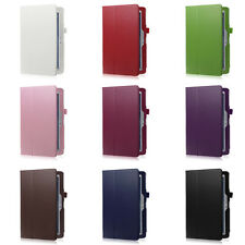 For Samsung Galaxy Note 10.1 (2014 Edition) Folio PU Leather Stand Case Cover