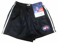Official AFL Footy Carlton Blues Team Playing Shorts - Kids Boys Youth Mens