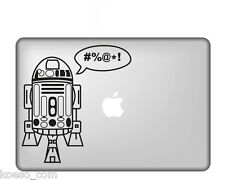 "Adesivo sticker ""Robot R2D2 Star Wars"" per Apple MacBook Vinyl Decal"