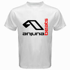 New ANJUNABEATS Above & Beyond DJ Trance Music Men's White T-Shirt Size S to 3XL