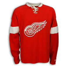 Detroit Red Wings Knit Lace Crewneck by CCM