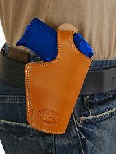 NEW Barsony Tan Leather OWB Belt Loop Holster Sig Walther Small 380 Ultra-Comp