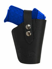NEW Barsony OWB Black Leather Holster Kel-Tec Taurus Sccy 380 Ultra-Comp 9mm 40