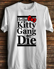 Kitty gang crewneck sweatshirt hello 4  t-shirt(longsleve & hoodie available)