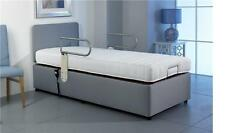 Grabrail Range Single 3ft6 Adjustable Electric Bed Free Installation + Assesment