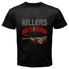 New THE KILLERS *BATTLEBORN Rock Band Men's Black T-Shirt Size S to 3XL