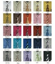 Men's Dress Shirt with Tie and Handkerchief 25 Colors