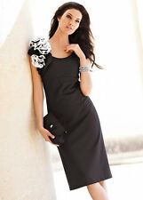 KALEIDOSCOPE BLACK SHIFT DRESS 10 12 14 16 BNWT RRP £80.00