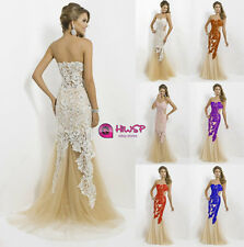 Sexy Lace Evening Gown Prom Ball Cocktail Party Wedding Cocktail Dress 6-16