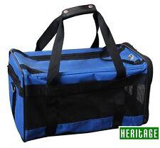 Heritage Dog Pet Crate Fabric Soft Carrier Tote Travel Folding Cage & Free Pad