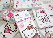 iPhone 4 4G 4S - Soft Silicone Rubber Gummy Skin Case Cover HELLO KITTY SANRIO