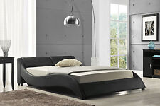 Exclusive Best Selling European Designer Bed Supplied in Black, Brown Or White