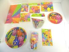 BACKYARDIGAN PARTY SUPPLIES- TABLECOVER, CUPS, PLATES, ETC. - YOU PICK
