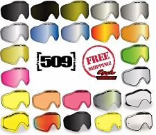 509 SINISTER X5 2017 SNOWMOBILE GOGGLE LENSES CHOOSE - COLOR POLARIZED MIRROR