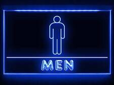 TD043 Men Male Boy Toilet Washroom Restroom Display LED Light Sign