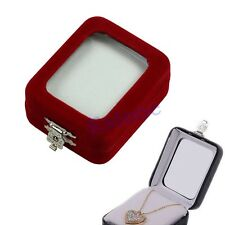 Practical Fashion Design Jewellery Pendant Package Gift Box Case Bag