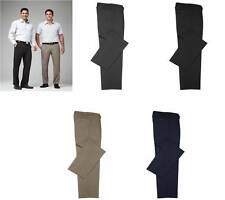 Classic Pleat Front Pants Mens Corporate BS29110 Office Casual 72R-127R Tailored