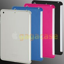 Slim Fit Smart Cover Workable TPU Gel Skin Back Cover Case For iPad Air iPad 5