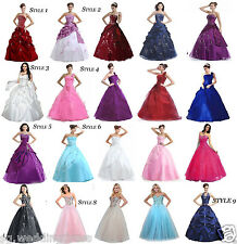 FairOnly New Formal Evening Party Prom Ball Gown Quinceanera Dress Size 6 to 16
