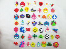 Mix Silicon Charms For Family Loom Rubber Band Bracelet + Free Silver Jump Rings