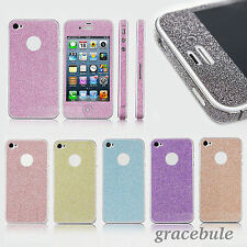 New Bling Diamond Full Body Film Cover Wrap Protect Sticker Skin for iPhone 4 4S