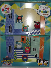 McDonalds Happy Meal Toy Furby Boom 2013, Green, Pink, Black, Red, Blue, White..