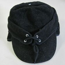 Warm Winter Wool Cap Hat with Ear Flaps for Cowboy or Hunting