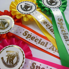 Horse Show Rosettes, Pony Party Rosette- Special Rosettes - pack Qty 5 - 50
