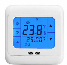 Digital Weekly Programmable LCD Touch Screen Underfloor Room Heating Thermostat