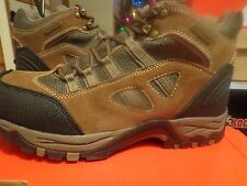 Men's Coleman Mainland II  Leather / Nylon Hiking Brown Boots Size 10 & 11