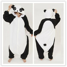 New Adult Fleece Kung Fu Panda Pajamas Costume Pyjamas Onesie Sleepwear Romper