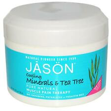 Jason Tea Tree and Mineral Muscle Reliever, cooling