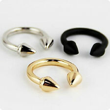 2014 Hot Selling Fashion Jewellery Gold Silver Plated Arrow Rings 3 Color Sz 7