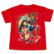Avengers Movie Assemble Heroes Juvy T-Shirt