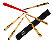 Escrima Sticks Set W/bag FMA Kali Arnis Rattan Eskrima Sticks