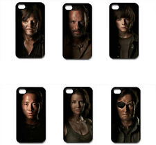 Walking Dead Daryl Dixon Team-Black iPhone 4/4S, 5/5S, 5C,6 Samsung S3, S4 Case