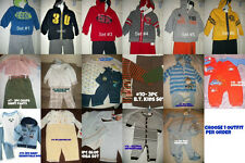 * NWT NEW BOYS 1pc - 2PC - 3pc WINTER OUTFIT SET 3M 3/6M 6/9M 12M 18M 24M