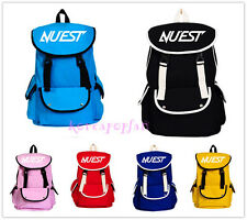 NU'EST NUEST CANVAS schoolbag bag KPOP GOODS NEW